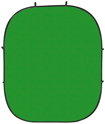 PhotoSEL BD123GU 2x2.4m Reversible Chroma Key Collapsible Background - Green/Blue
