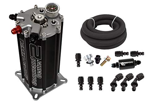 FITech HyperFuel Fuel Injection Conversion 40004 Go EFI System Fuel Command Center 2 ()