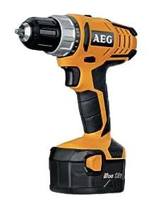 AEG BS 12 G2 - Taladro atornillador compacto (2 baterías NiCd de 1,4 Ah)