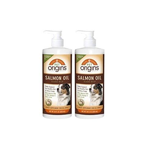Pet Origins Salmon Oil 2 - 28 oz Bottles