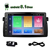 Car Radio E46 Android 8.1 Oreo Stereo Quad Core 9 inch Touch Screen GPS Navigation for BMW E46 M3 3 Series Bluetooth AM FM Player IPS Single Din Head Unit USB Video WiFi 2+32GB For Sale