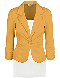 Yellow Blazers For Juniors | Fashion Ql