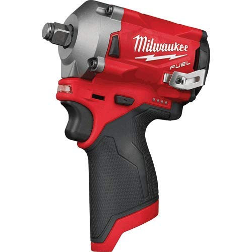 """Price comparison product image M12 FUEL 1 / 2"""" Stubby Impact Wrench,  No Charger,  No Battery,  Bare Tool Only"""