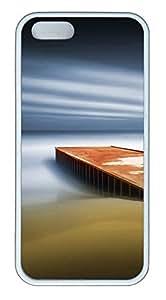 iPhone 5 5S Case Dream Pier TPU Custom iPhone 5 5S Case Cover White