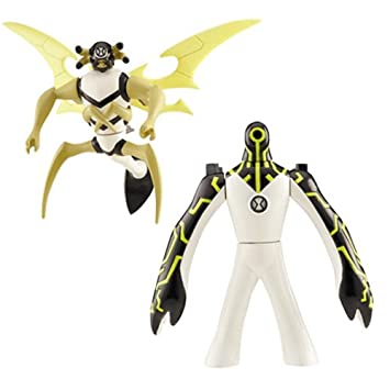 Amazon Ben 10 Ten Alien Creation Chamber Mini Figure 2 Pack Upgrade And Stinkfly Toys Games