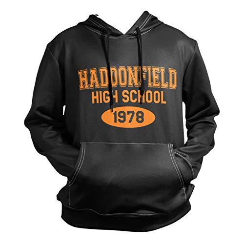 Nydia Hoodie,Haddonfield-High-School-1978,Black,Men Women Boy Girl Kid Youth,Unisex -