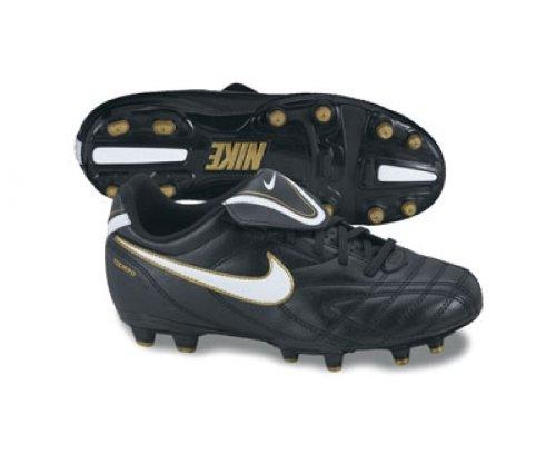 Nike Junior Tiempo Natural III Base resistente fußballstiefel Negro - negro