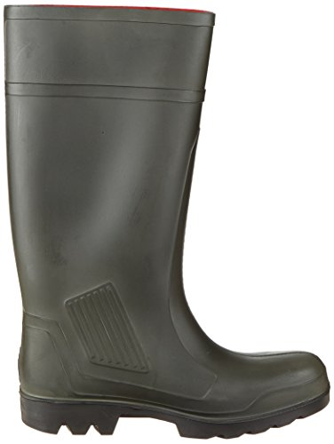 44 40 Green Self Dunlop 42 On Verde Lined Pull Size Wellingtons Verde 08 43 41 39 groen wTBpg