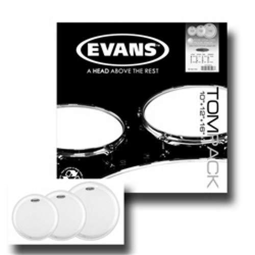 (Evans EC2 Coated Tom Pack - 10
