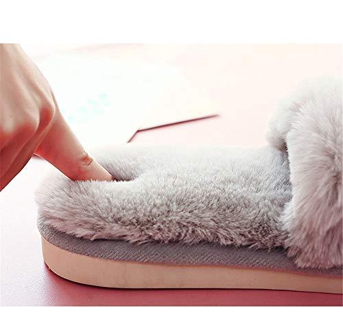 Pantofole Inverno Niaa Calda Per Interni Autunno Da In Cotone Casa Antiscivolo Donna Rosa E dAAqC7w