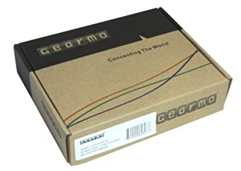 Gearmo 2 Port Professional Usb To Serial Adapter With Txrx Led & Com Retention Ftdi Chip & Fast 920k Per Port Transfer Speed - Win Xp, 7, 8, & Windows 10, Mac, Linux 2
