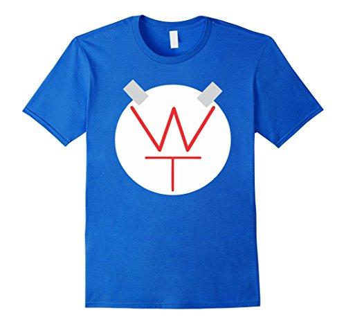 Popular Male Halloween Costumes (Mens Easy Superhero T-Shirt Costume Popular Halloween Costume Medium Royal Blue)