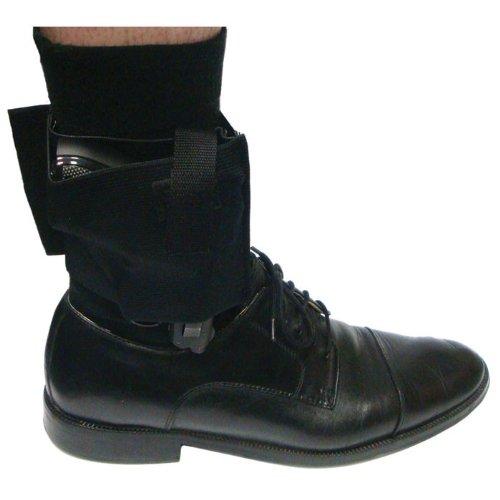Concealed-Ankle-Holster-Pistol-Black