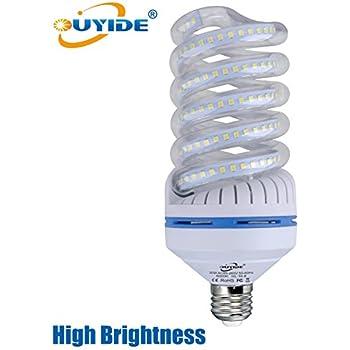 OUYIDE Spiral LED Corn Light Bulbs 250 Watt Equivalent 3300LM 30W LED Bulbs Daylight 6000K E26 Socket