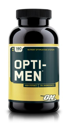 Optimum Nutrition Opti-Men multivitamines, 180-comte
