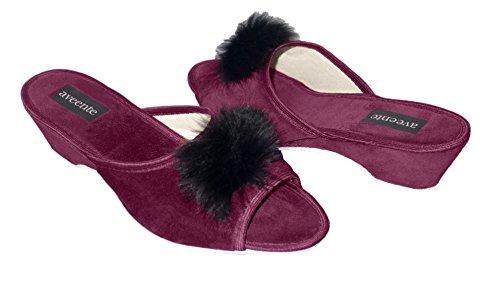 Aveente - Zapatos de Terciopelo para mujer Marrón - marrón