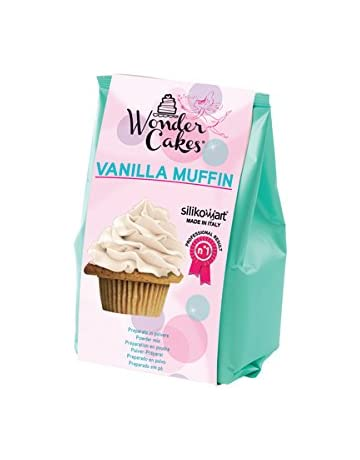 silikomart 99.092.01.0062 - Wonder Vanilla Muffin Preparado en Polvo para Muffin con Sabor a