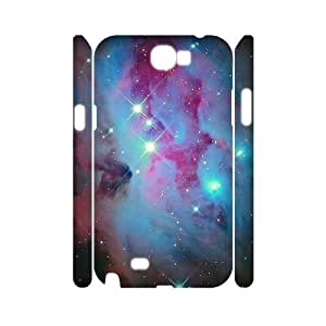 Galaxy Space Universe Custom 3D Cover Case for Samsung Galaxy Note 2 N7100,diy phone case ygtg553718