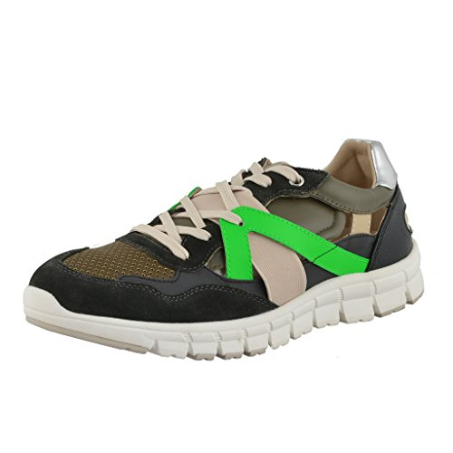 Dolce & Gabbana Mens Leather Suede Fashion Sneakers Shoes Multi-color Milr0