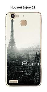 Carcasa Huawei Enjoy 5s Design Paris City
