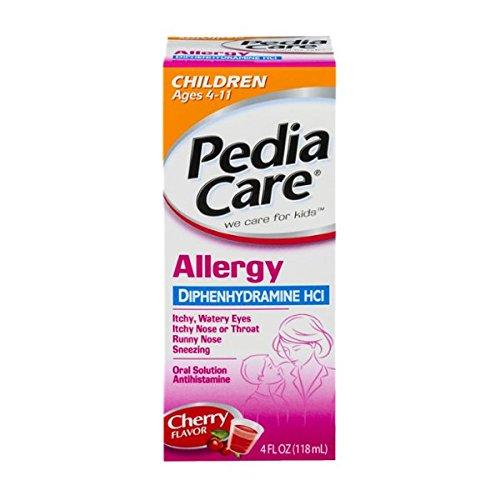 Pediacare Children's Allergy Cherry, 4-Ounce
