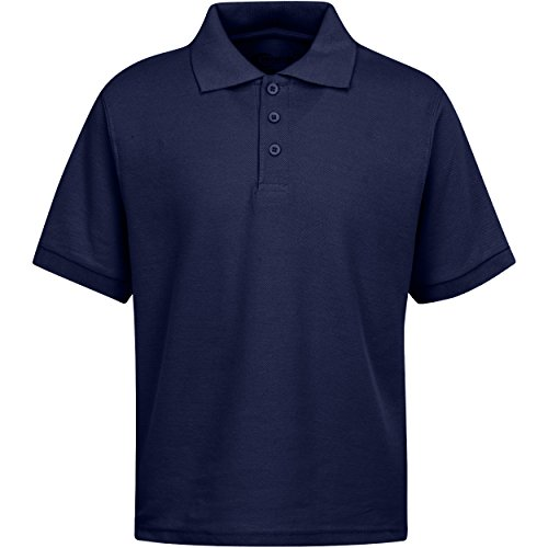 - Boys Uniform Polo Shirt Navy M 10/12