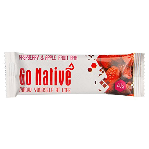 Go Native Raspberry and Apple fruit snack bars