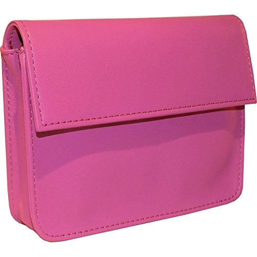 (Royce Leather RFID Blocking Exec Wallet (Wild Berry) )