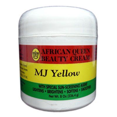 African Queen Beauty Cream Mj Yellow 8oz