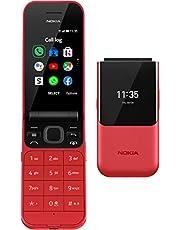 Nokia 2720 Flip Klaptelefoon - Gebruiksvriendelijk, Grote Knoppen en Tekst - Voorzien van 4G Internet - Lange batterijduur - Compact en Sterk - Incl. Noodknop - Dual SIM