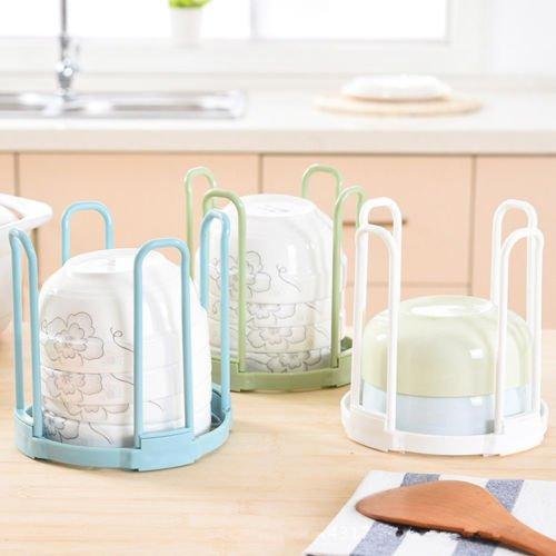MAZIMARK-Plastic PP Dish Rack Cutlery Drainer Kitchen Holder Drying Sink Dismountable by MAZIMARK