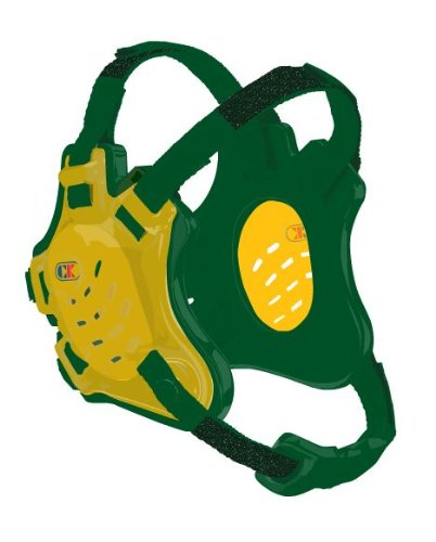 Cliff Keen F5 Tornado Headgear - Gold/Kelly/Kelly