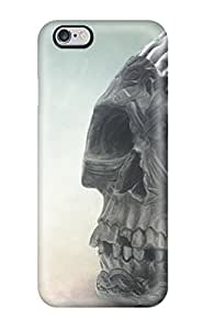 Awesome OWKKWES2862TvEBn Jonathan J Harris Defender Tpu Hard Case Cover For Iphone 6 Plus- Brain Skull