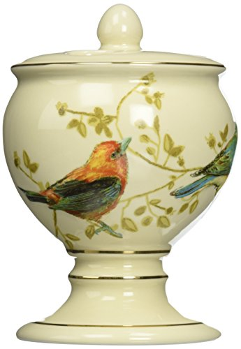 Gilded Birds Toothbrush Holder