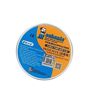 MECHANIC MCN-UV80 No-clean Solder Paste Flux Soldering Tin BGA Electric Welding