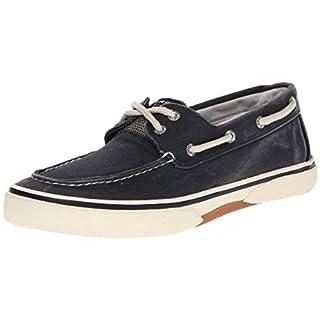 Sperry Mens Halyard 2-Eye Sneaker, SW Navy, 13