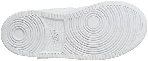 TDV Mixte Borough bébé Court Chaussons Mid White Blanc NIKE 100 White wfAqxA