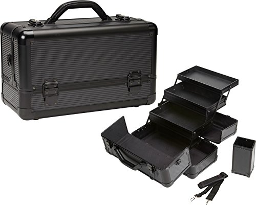 seya-beauty-pro-aluminum-makeup-train-case-w-brush-holder-all-black-aluminum