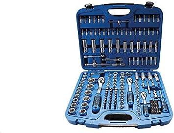 12 piezas | 8-19 mm BGS 9104 3//8 Juego de llaves de vaso hexagonal entrada 10 mm