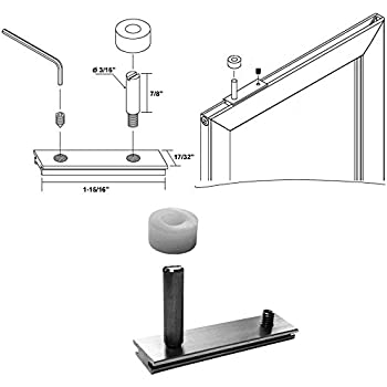 Replacement Pivot Assembly For Framed Swing Shower Doors