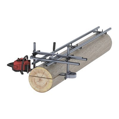 Granberg EZ Rail Mill Guide System - 9-Ft., 3 Crossbar Kits, Model# G1080