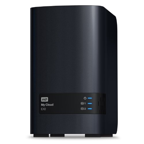WD 6TB  My Cloud EX2  Network Attached Storage - NAS - WDBVKW0060JCH-NESN from Western Digital