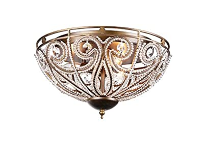 Whse of Tiffany RL7971C Claire Flush Mount