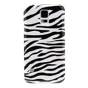 Zebra Stripe Pattern Back Case for Samsung S5