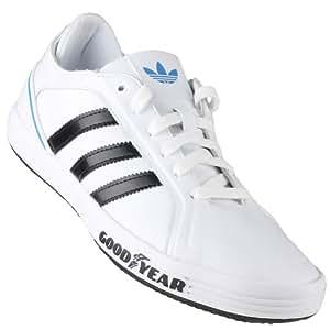 Adidas - Goodyear Driver Vulc - Coleur: Blanco-Negro - Taille: 46.0