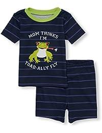 Baby Boys' Top and Bottom Pajama Sets