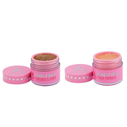 Jeffree Star - Velour Lip Scrub (Family Collection Velour Lip Scrub Duo - Pancakes & Syrup & Peach Popsicle)
