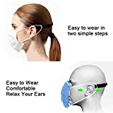 Face Mask Ear Protector 6Pcs, Adjustable Mask Ear