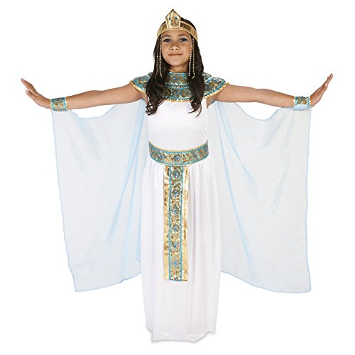 Pharoah's Princess Child Costume M (Egyptian Dress For Girls)