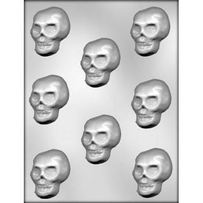 90-3612 Includes Melting /& Chocolate Molding Instructions Skull Chocolate Mold